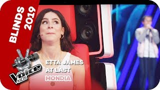 Etta James - At Last! (Mondia) | Blind Auditions | The Voice Kids 2019 | SAT.1