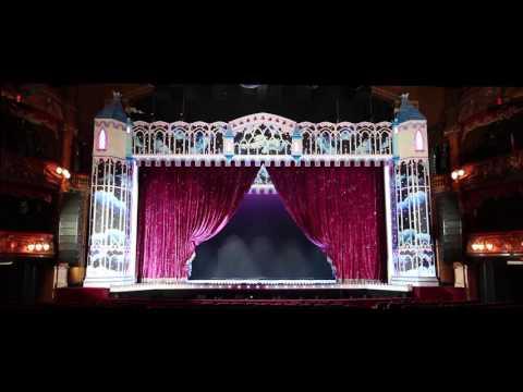 Cinderella Curtains @ London Palladium 2016