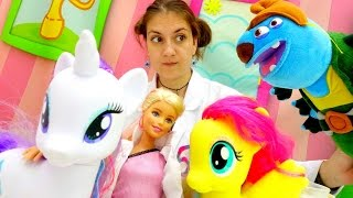 Игры Барби. Что такое СРЕДА ОБИТАНИЯ и микроскоп!