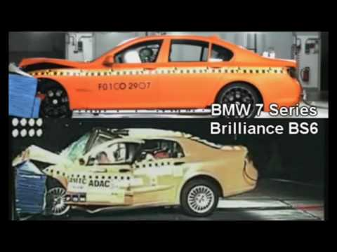 Crashtest Comparison: German vs. Chinese Cars - YouTube