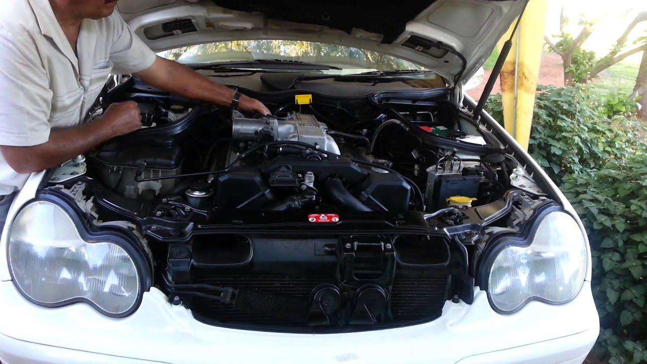 Mercedes c230 engine swap