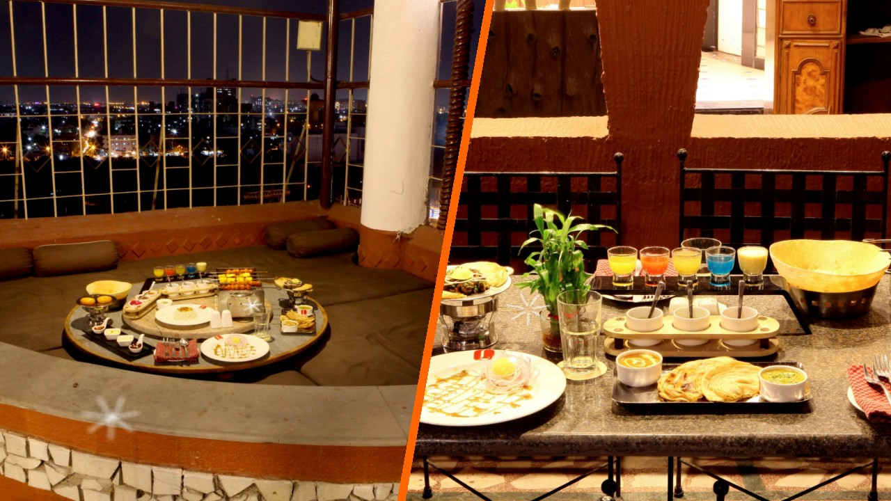 Rooftop Restaurant In Surat Buffet Restaurant The Lime Tree