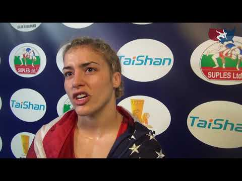 Helen Maroulis wins gold at 2017 World Championships