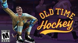 PLAYING AN M RATED HOCKEY GAME?! (OLD TIME HOCKEY)