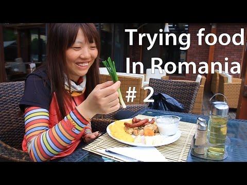 Spicy Romanian food challenge!! 루마니아의 독특한 현지 음식 도전!