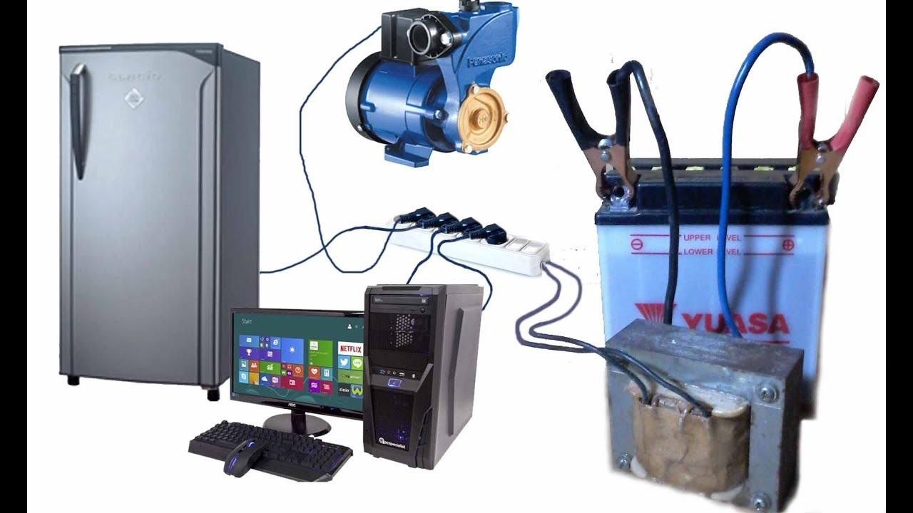 How to make STRONG INVERTER MT156  12V DC to 220V AC  Cara Membuat Kit MT156  YouTube
