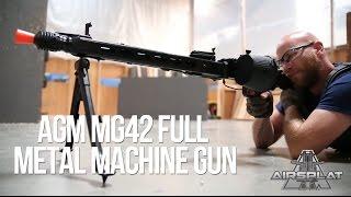 AGM MG42 Full Metal Airsoft Machine Gun - AirSplat On Demand