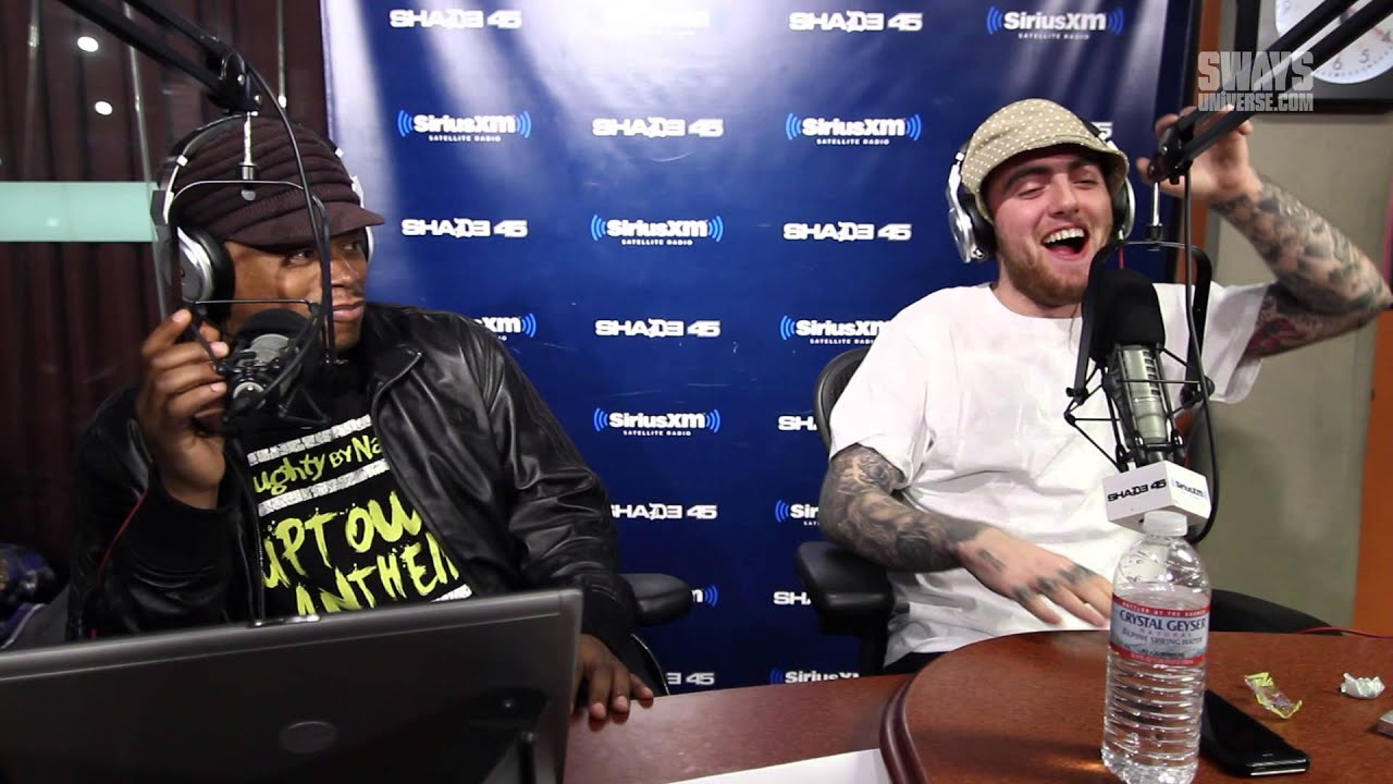 Mac Miller  The Sway In The Morning Mystery Sack Story Of Lost Virginity  Favorite Genre Of -3803