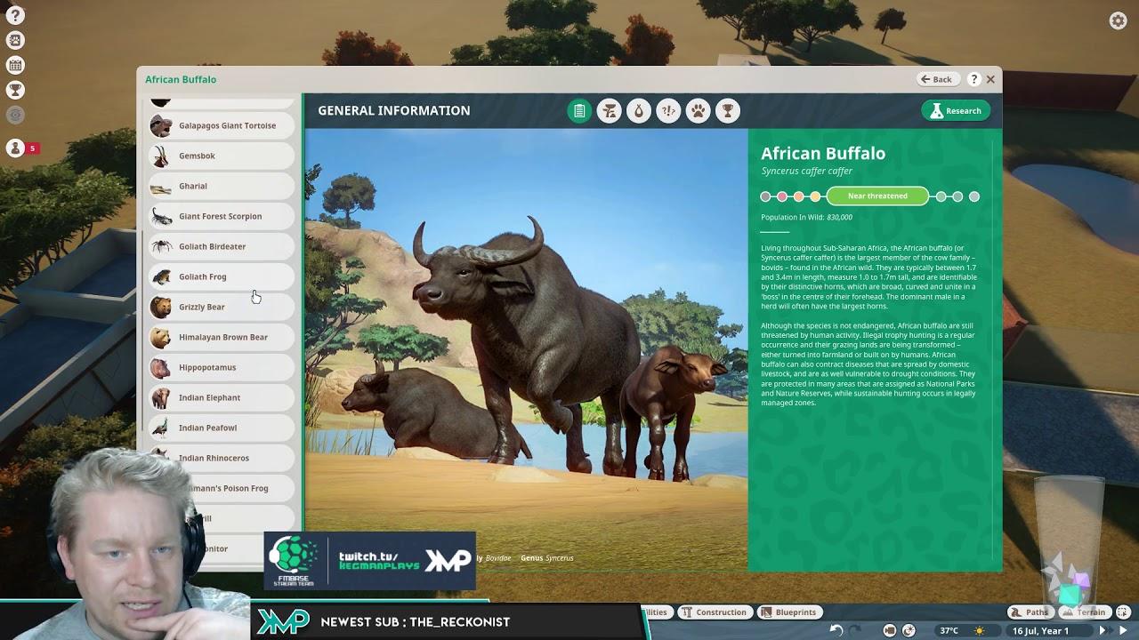 Planet Zoo Beta Start
