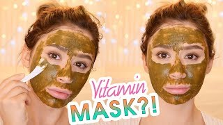 VITAMINS FOR SKIN? IM FROM VITAMIN TREE MASK REVIEW