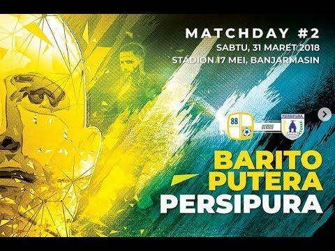 BPTV - BARITO PUTERA VS PERSIPURA MACTH 2 #GOJEKLIGA1 2018