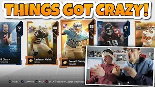 When your pack opening starts like THIS you just know.. MUT 19 Punishment Packs
