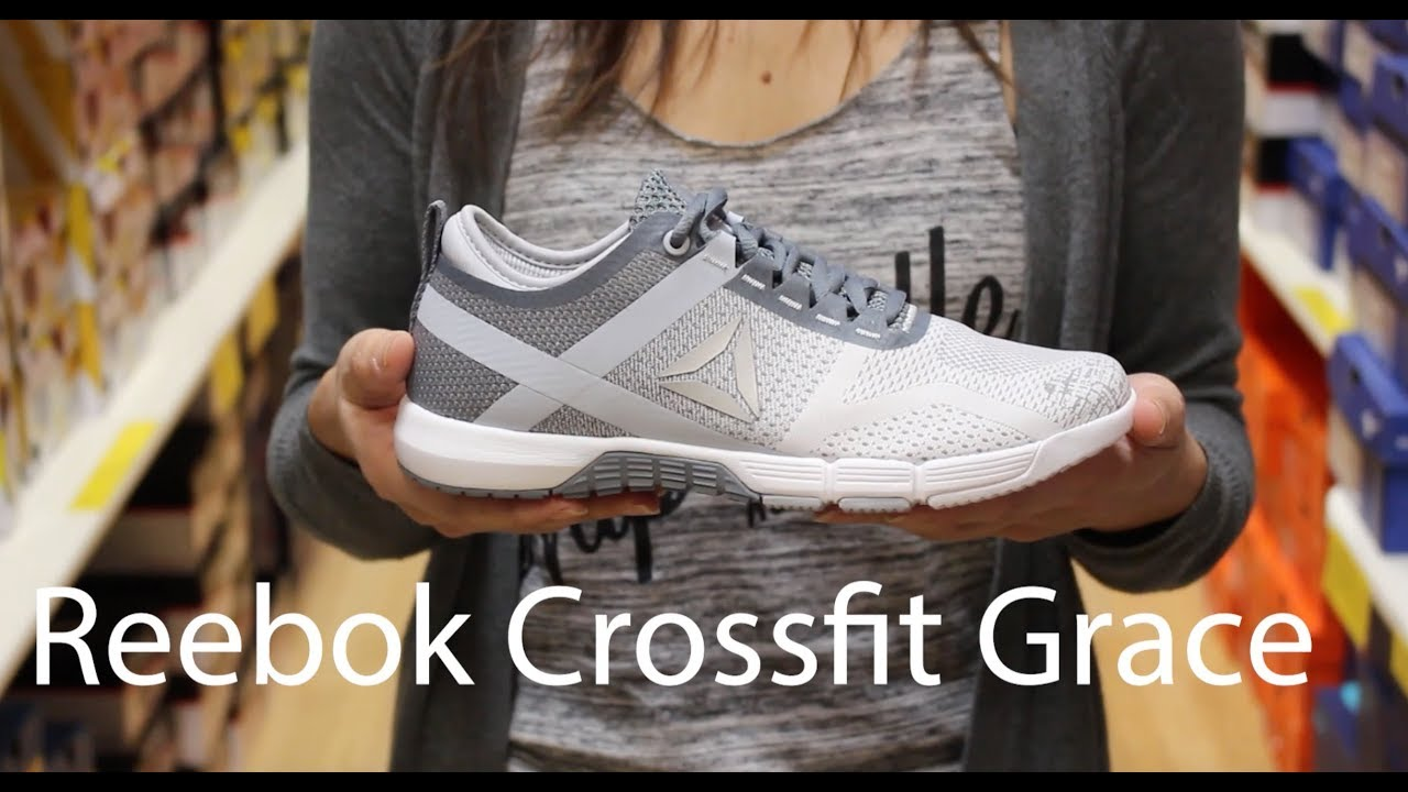 55a49b7aed48 Reebok Crossfit Grace Shoe Review - YouTube