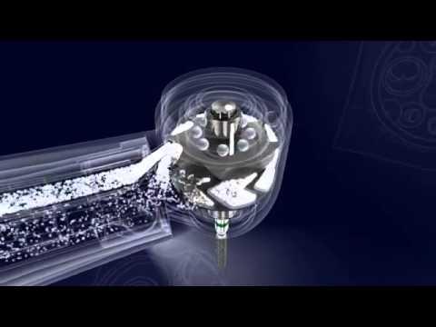 CX207-GL - турбинный наконечник с фиброоптикой, COXO - YouTube