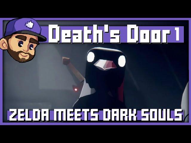ZELDA MEETS DARK SOULS   Death's Door Playthough   1