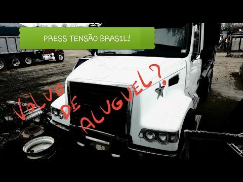 Caminhão de aluguel | Obrigado Brasil | Vai dar tudo certo!