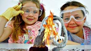 Веселые опыты для детей. Учимся, играя! thumbnail