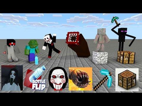 Monster School: SEASON 4 ALL EPISODE - Minecraft Animation