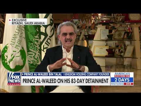 One on one with Prince Al Waleed bin Talal