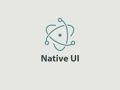 Getting started with Electron -  Native UI