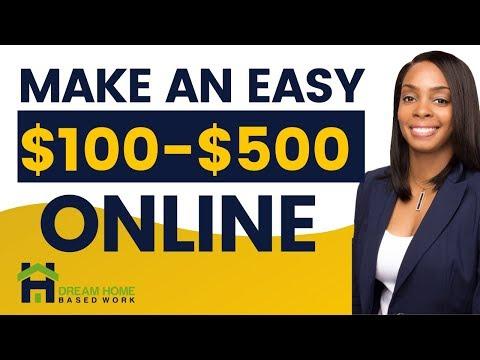 Make $100-$500 Online: Play Bingo, Online Surveys, Chat & Flirt