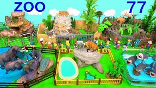 Learn Wild Animals and Zoo Animals Names Education Video Animal Toys For Kids Children SFR 77