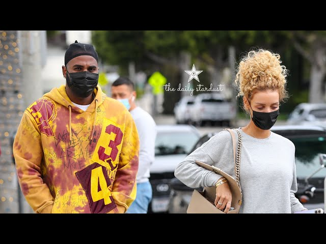 Jason Derulo and Jena Frumes step out in newly gifted car as Jason shares his BIG plans for 2021 ⭐️