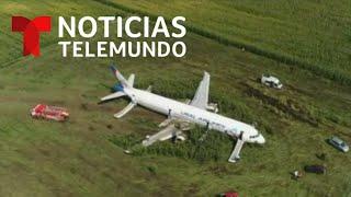 los-ms-de-200-pasajeros-de-este-avin-volvieron-a-nacer-hoy-noticias-telemundo