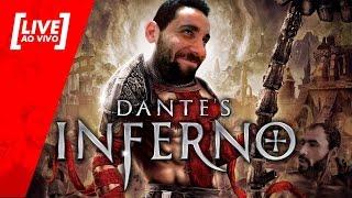 [LIVE] Dante's Inferno PT#01 - Começando essa delícia de forma satanizada - 21/05/2017