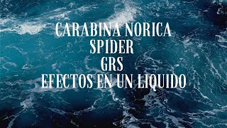 Carabina Norica Spider Grs ▶️ Prueba de carabina sobre latas