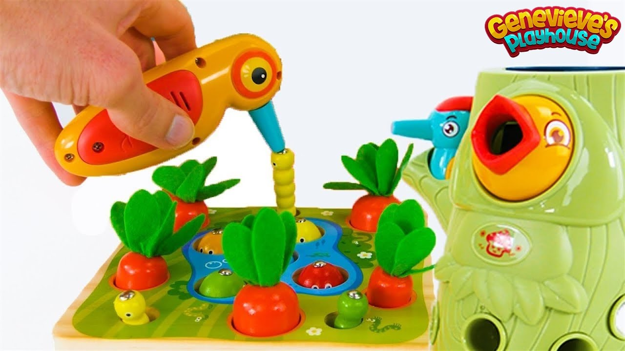 Download Best Toy Learning Video for Toddlers and Kids - Learn Colors and Counting in the Garden!