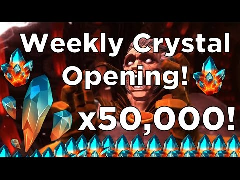 50,000 Premium Hero Crystal Shards! - Seatin's Weekly Crystal Opening - Marvel Contest of Champions