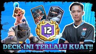 12 WINS GC DECK ROMBONGAN BABI TELAH KEMBALI!! - Clash Royale Indonesia