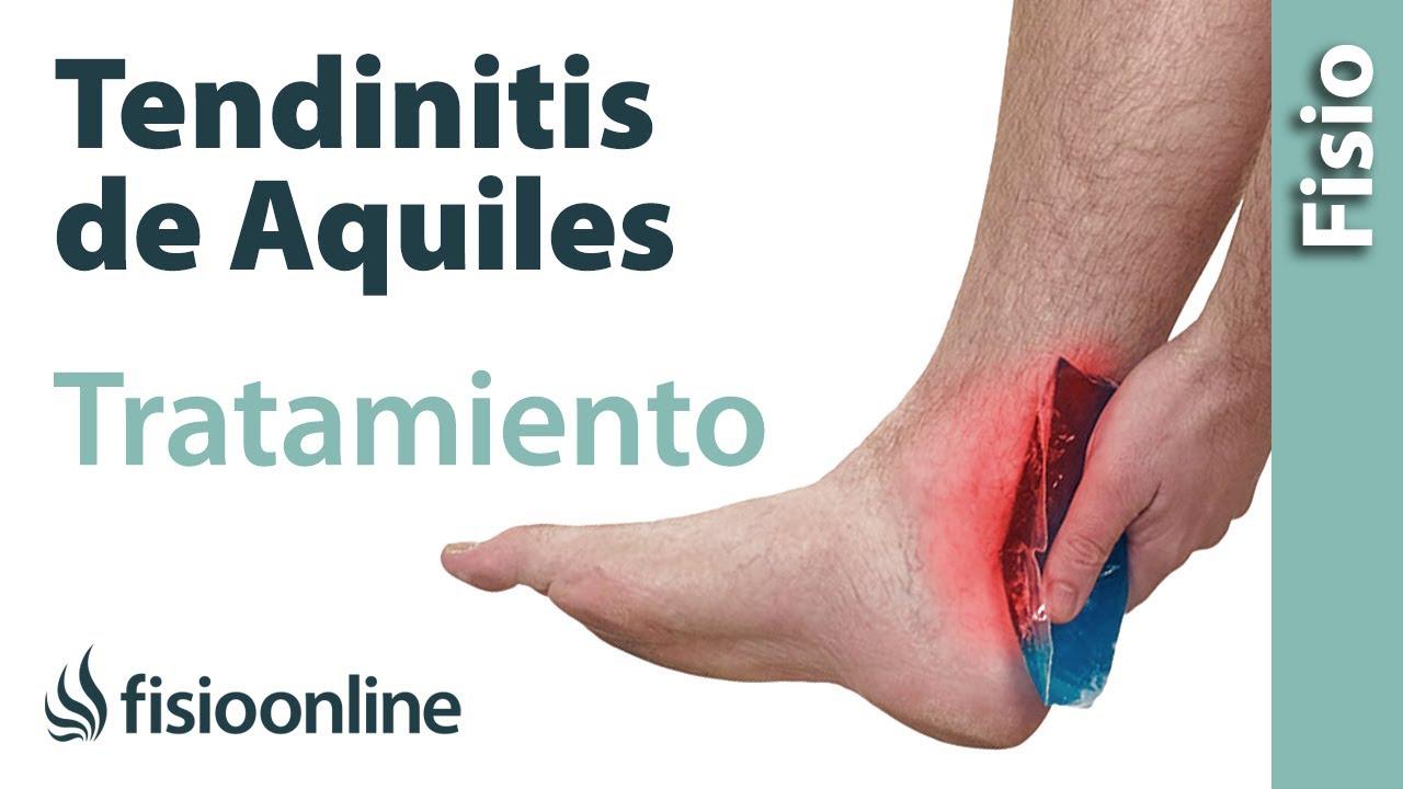 ¿Cómo tratar la Tendinitis de Aquiles  Ejercicios y consejos de un  fisioterapeuta - YouTube 0677d609022b
