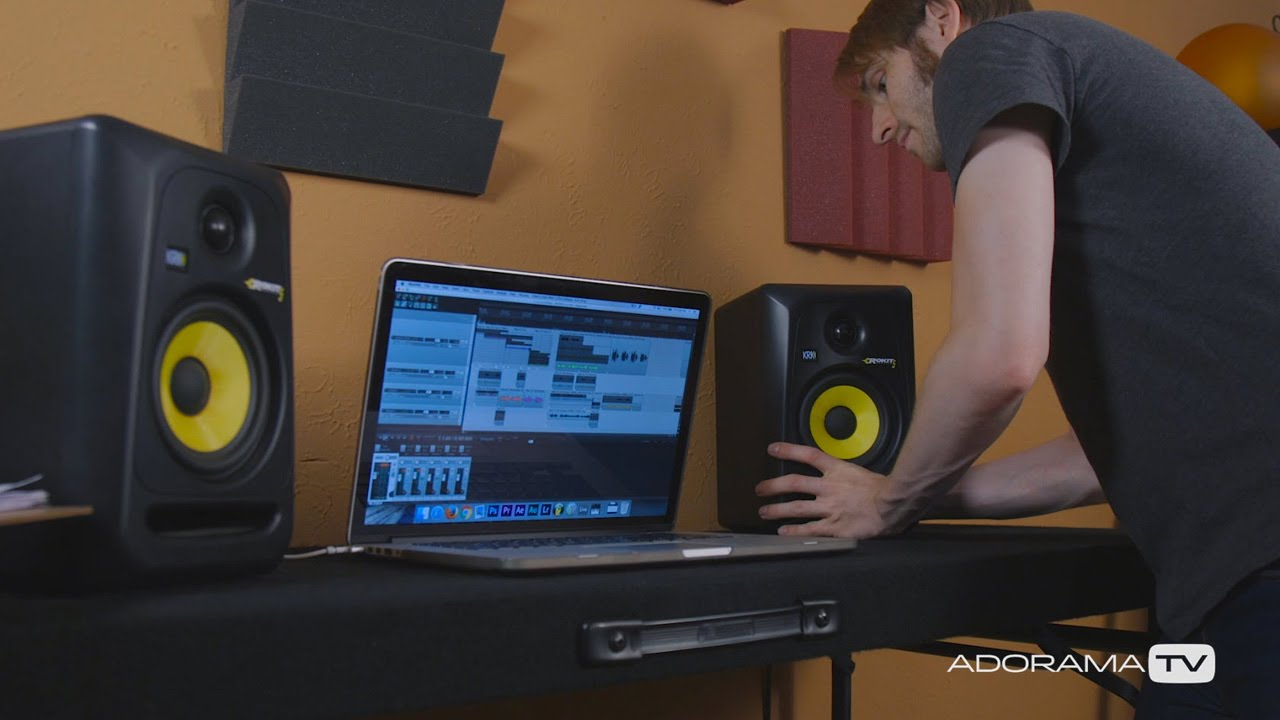 Home Recording Studio Monitors Making Waves With David