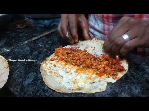 how to make paratha roll