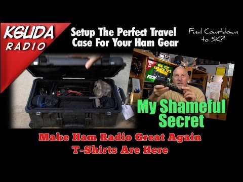 How to travel with your high dollar ham gear - K6UDA Radio Episode 34