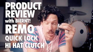 Product Review With Biernt! - Remo Quick Lock Hi Hat Clutch