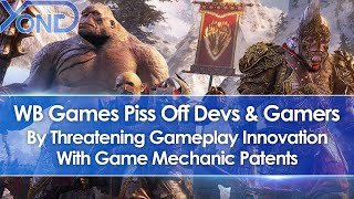 WB Games Patent Nemesis System In Middle-Earth Games, Pissing Off Devs & Gamers