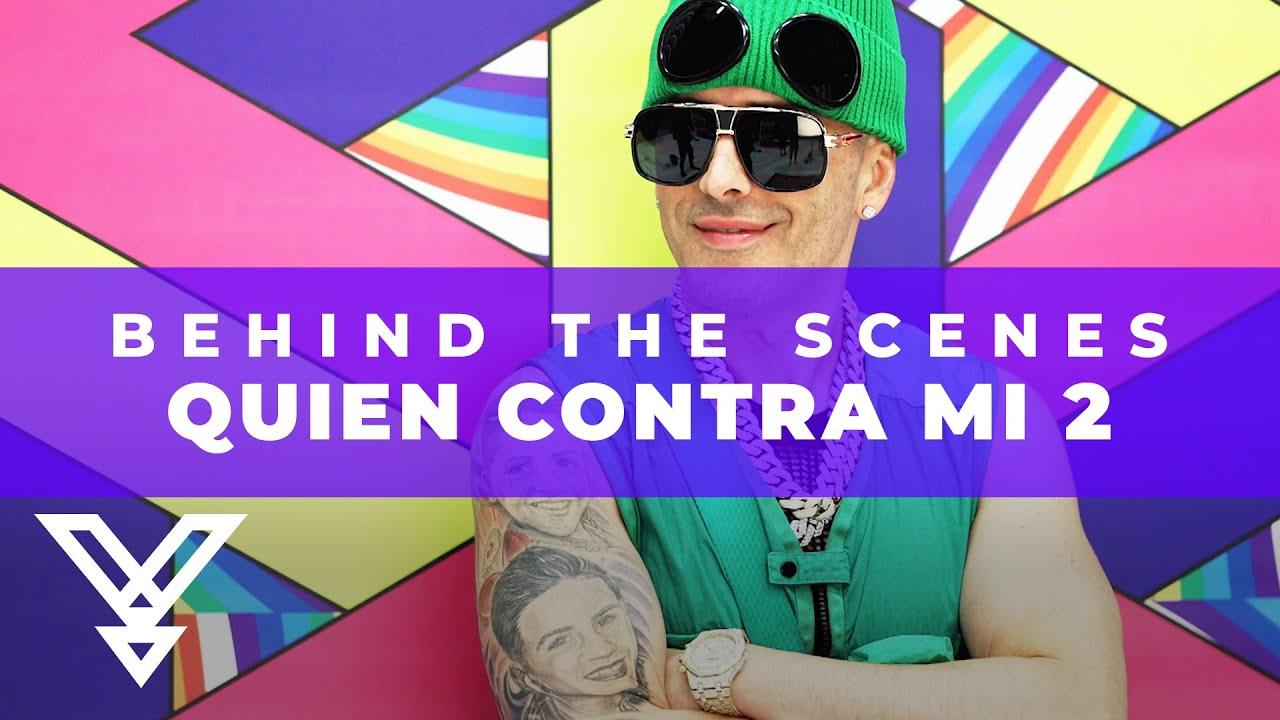 Yandel - Quien Contra Mi 2 Photo shoot (Oficial BTS- Behind The Scenes)