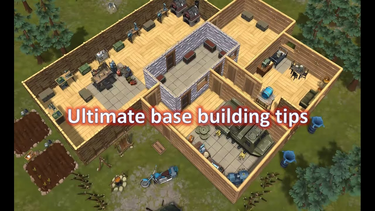 Last Day On Earth  Tips To Build A Strong Base Defense