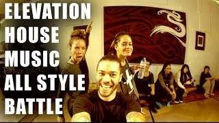 elevation dance battle epic moving selfie slo mo recap   house music