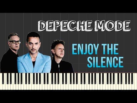 Depeche Mode - Enjoy The Silence (Piano Tutorial Synthesia)