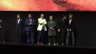 The cast, Roger Taylor and Brian May after the World Premiere Of Bohemian Rhapsody 23/10/18
