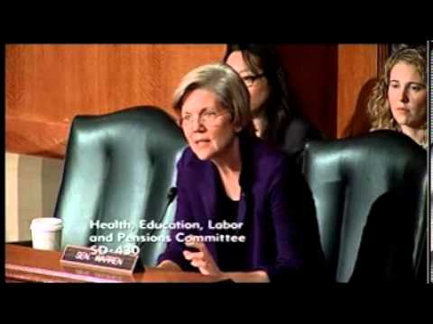 Senator Elizabeth Warren - Accreditation as Quality Assurance in Higher Education