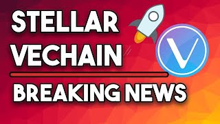 Stellar XLM Is Up 54%, Vechain VET Entering 2020 Like A Boss!
