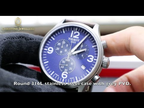 ccdf7ab6744 UNBOXING TISSOT CHRONO XL BLUE DIAL T1166173604700 - YouTube