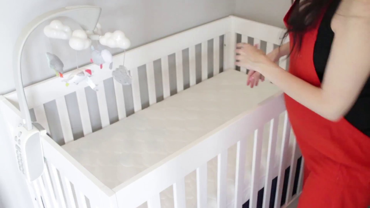best mattress for first time moms: newton crib mattress review - youtube
