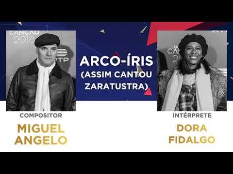 Arco-Iris (assim cantou Zaratustra) (45'') - Miguel Angelo | Festival da Canção 2018