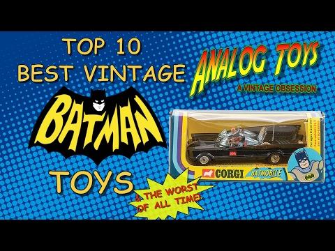 Top 10 Best Vintage Batman Toys - Batman Action Figure Collection